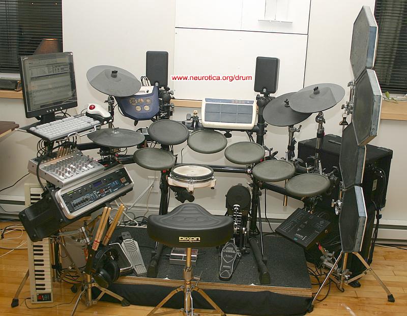 Building your own drum riser ...
